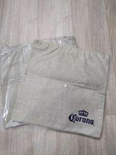 corona tote bag sunset zip 環保袋 $30each