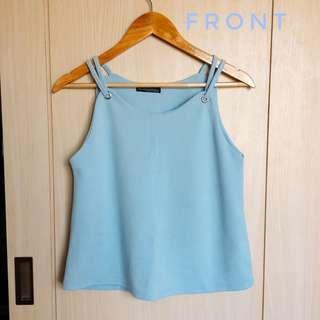 Light Blue Camisole Blouse