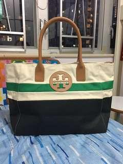 95% New Tory Burch Dipped Beach Tote
