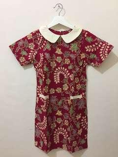 Banting Harga! Mini dress batik