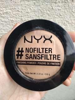(INC POS) NYX No Filter Finishing Powder