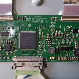 🚚 🔴LG 37LH30FD邏輯板 拆機零件