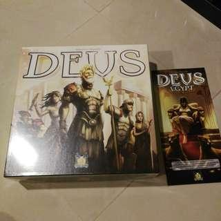 Deus Board Game with Egypt Expansion