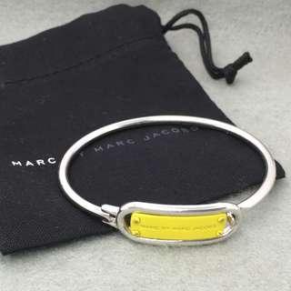 Marc By Marc Jacobs Sample bangle Bracelet 黃色配銀色開口扣手鈪