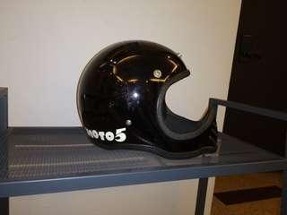 Vintage Bell Moto 3 style BMX helmet