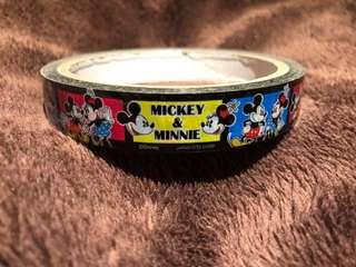 米奇 米妮 膠紙 膠帶 大卷 Micky & Minnie tape