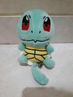 Boneka pokemon Squirtle, banpresto