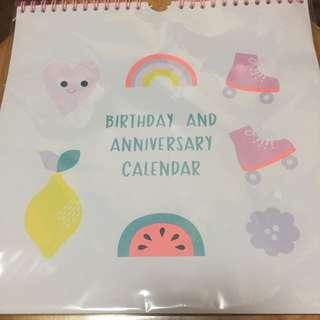 Kinki.K birthday and anniversaries calendar
