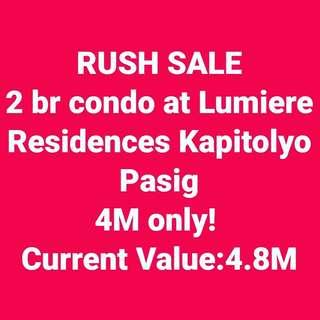 2 br condo in Kapitolyo Pasig Lumiere Residences