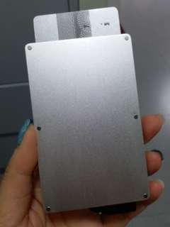 鋁信用卡片盒