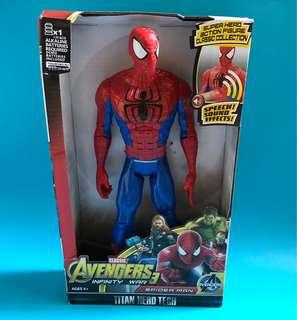 Spider Man Toy Figure with Sound 蜘蛛俠