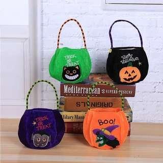 Halloween Smile Pumpkin Party Supplies Candy Bag