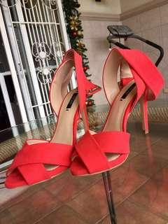 Zara Red Stiletto