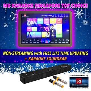 🎄MB Full Home Karaoke touchscreen system(Non-streaming online update (Free lifetime update-2 years warranty )