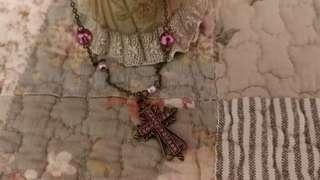 Vintage necklace復古十字架頸鍊