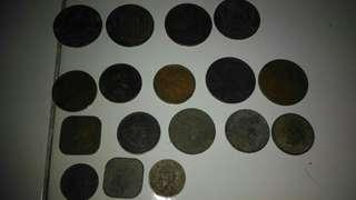 Old coin rajah  brooke and british north borneo co