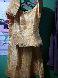 ❇️REPRICED❇️Filipiniana Long Gown