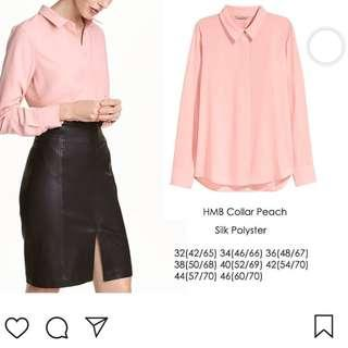 Hnm blouse collar