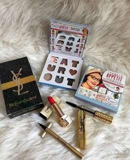 Eyeshadow The Balm + YSL