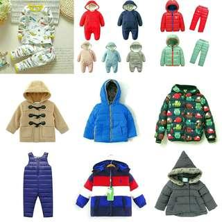 🚚 Kids Winter Wear Outfits!