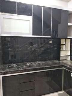 Kitchen set, lemari bawah tangga, lemari baju, tempat tidur