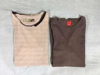 5cm 及 Esprit 長袖T恤 (清衣櫃 平賣)