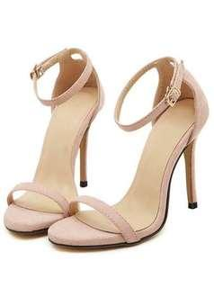 Syrup Open Toe Ankle High Heels