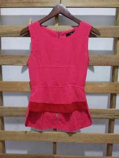 Mds pink blouse