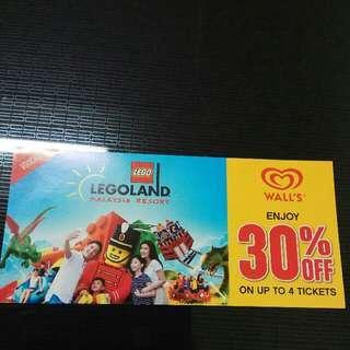 Legoland voucher