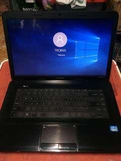 Hp compaq i3 3rd gen laptop