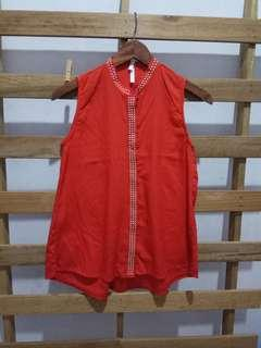 Red woman top