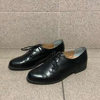 Black Oxford Shoes (Purchased from Korea)