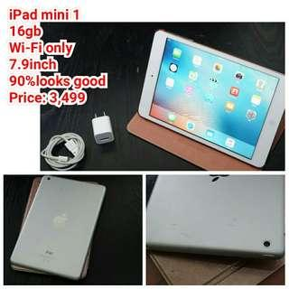 IPad mini1 16gb Wi-Fi