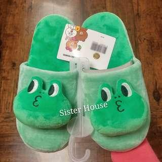 🇰🇷 LINE Friends Leonard Indoor Slippers 室內拖鞋