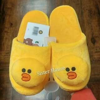 🇰🇷 LINE Friends Sally Indoor Slippers 莎莉室內拖鞋