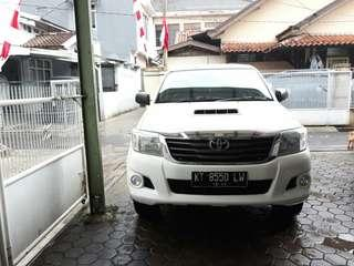 Toyota hilux DC.4x4.turbo. Manual. Thn.2014..poL.KT