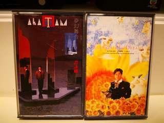 譚詠麟夢幻舞台+ 譚詠麟神話1991 Fairy Tale & Dream卡式帶 不散賣