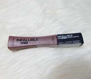 Loreal Infallible ProMatte Liquid Lipstick