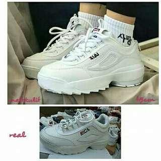 Sepatu fila lokal