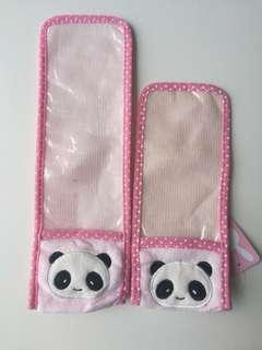 Cartoon Panda Dust Protection Remote Control Pouch Cover