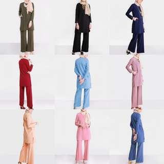 ARIANNA SET 2018 top baju tunic tunik baju peplum blouse instant kurta kurti