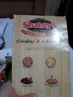Shakey's 40th Anniversary Stickers