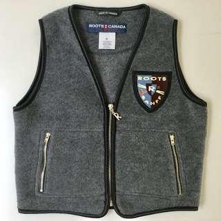 ROOTS Fleece Vest Girls Size 8 - Mint Condition