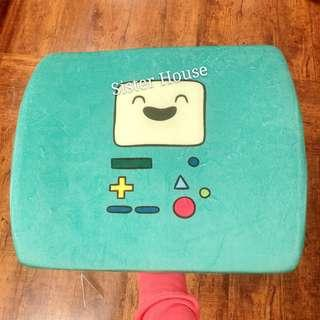 🇰🇷 Adventure Time BMO Beemo Memory Cushion 探險活寶嗶莫座椅記憶咕