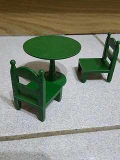 森林家族 餐桌椅