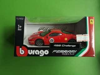 Bburago 1/43 Ferrari 458 Challenge