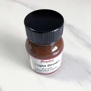 Light Brown Angelus Acrylic Leather Paint 1fl oz