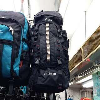 616 CAMEL MOUNTAIN 80L 尼龍大背囊 Backpack