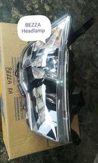 Headlamp, Skirt, Rear License Plate Garnish