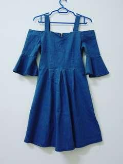 Korean Style Jean Dress